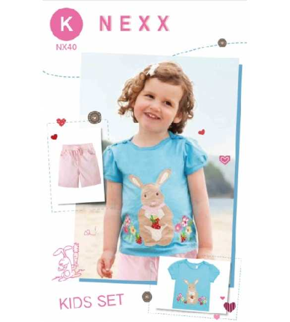 Girlset Casual Nexx Kids 40 K Rabbit Blue