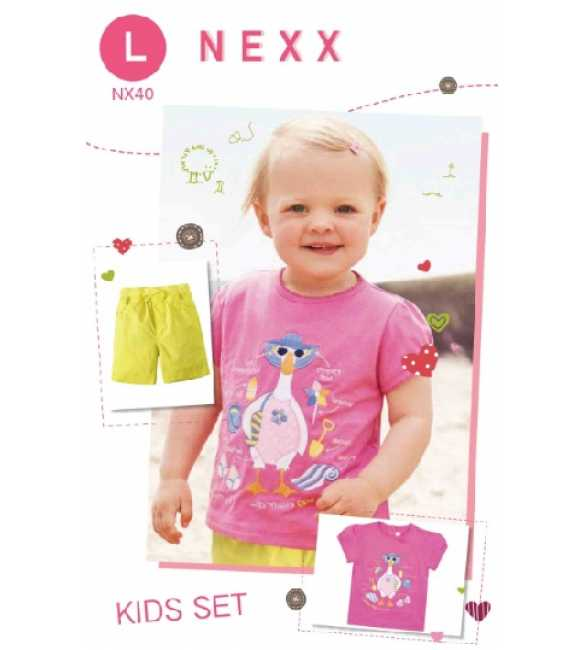 Girlset Casual Nexx Kids 40 L Duck Pink