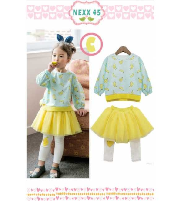 Girlset Nexx Kids 45 C Banana