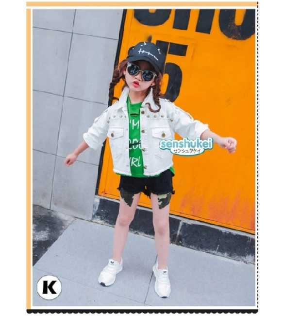 SENS 22 K Set Girl Senshukei 3in1 Shirt Green (MED SIZE)