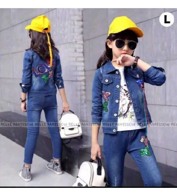 Set Belle Maison 3in1 Love Jacket Jeans