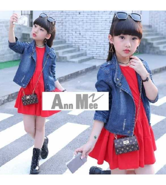 Set Dress Jacket Jeans Ann Mee (BIG SIZE)