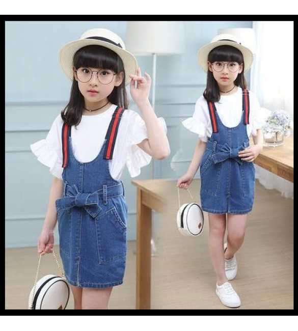 Set Dress Overall Jeans Kayla