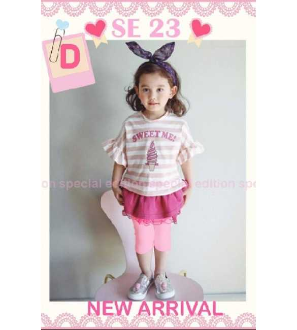Set Girl Special Edition SE 23 D Ice Cream Pink