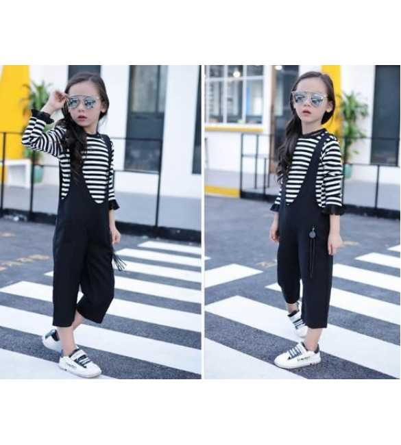 Set Jumpsuit Channel Stripe