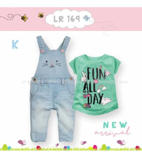Setelan Anak Lil Rose 169 K Fun All Day