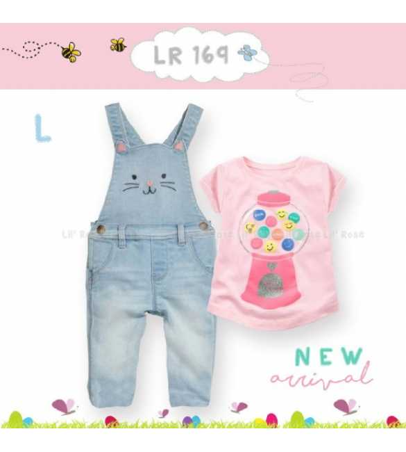 Setelan Anak Lil Rose 169 L Candy Machine