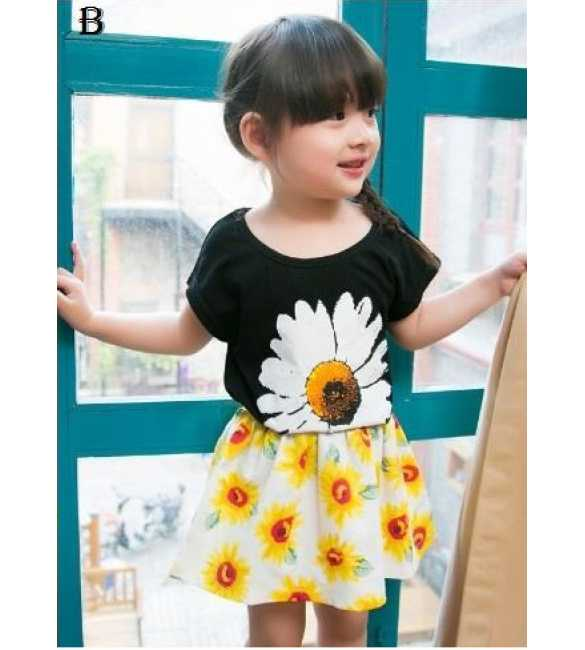 Setelan Korea Sunflower