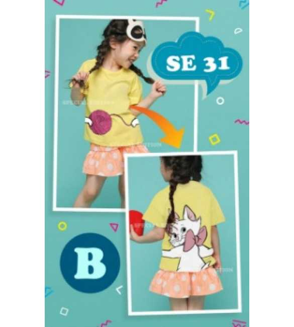 Setelan anak Special Edition SE 31 B Marie Cat