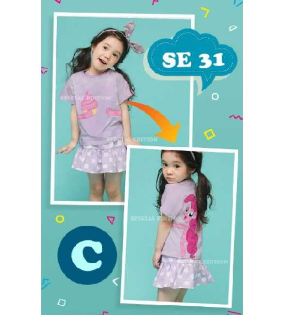 Setelan anak Special Edition SE 31 C Little Pony