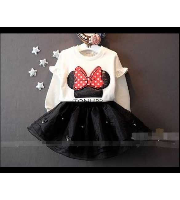 Setelan tutu Minnie Mouse