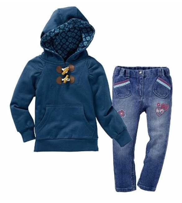 Set Baby Show Sweater Blue