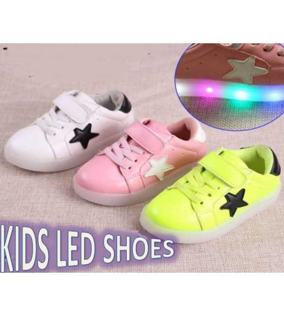 WS053 - LED Star Shoes (SMALL SIZE)