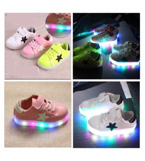 WS053 - LED Star Shoes (MED SIZE)