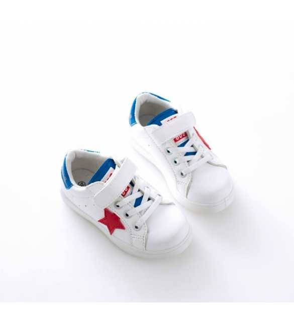 WS056 - Star Sneakers White Blue (BIG SIZE)