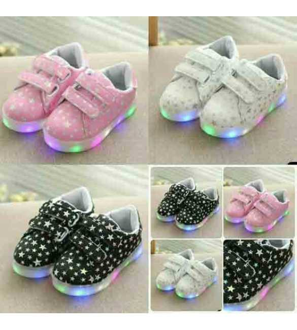 WS099 Sepatu LED Star (SMALL SIZE)