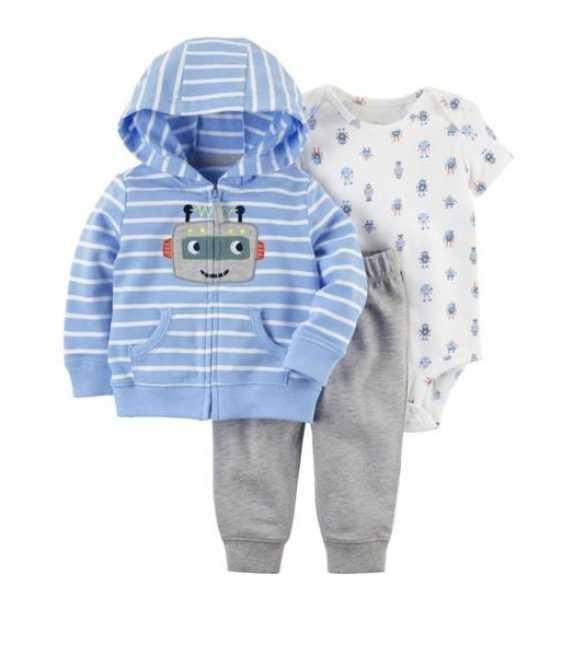 1d4d09b75f54 Baby Boy Carter 3in1 Robot Stripe Blue