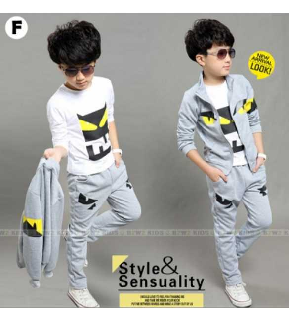 B2W2 12 F_Set Boy 3in1 Gray Eye (BIG SIZE)