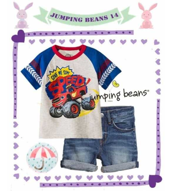 Setelan Jumping Beans 14 Speed Car