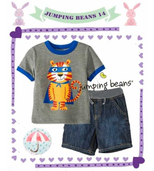 Setelan Jumping Beans 14 Super Tiger