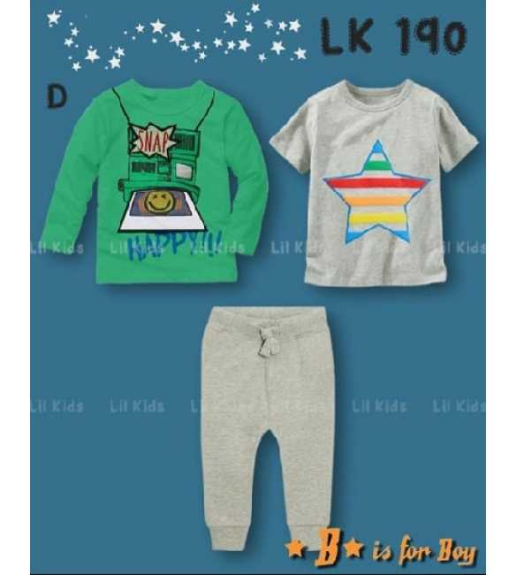 Setelan anak Lil Kids LK 190 D Snap Happy