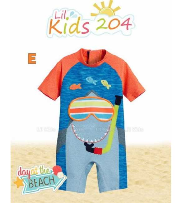 Baju renang anak Lil Kids LK 204 E Shark diving