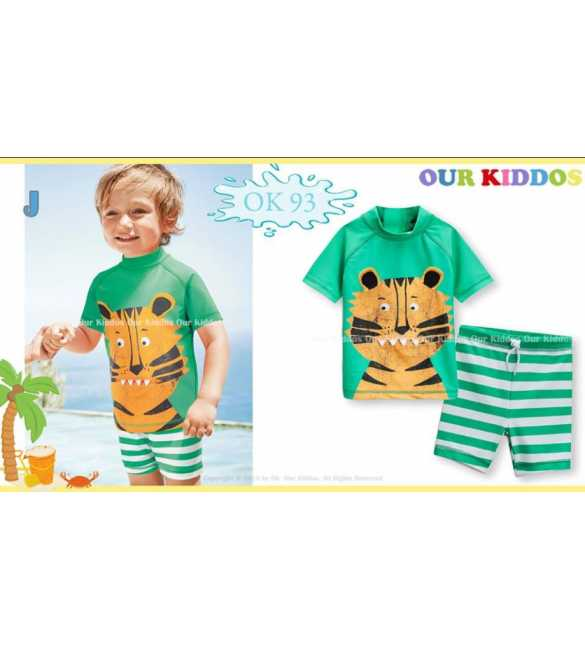 Setelan baju renang anak Our Kiddos OK 93 J Tiger (BIG SIZE)