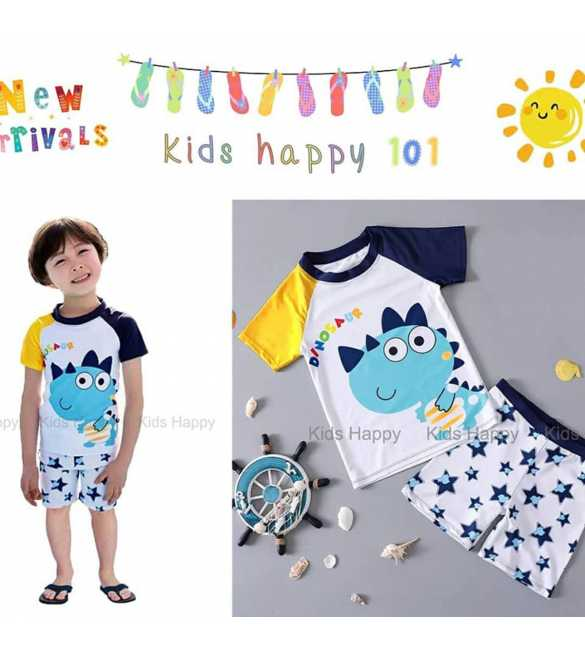 baju renang anak Kids Happy KH 101 D Dino Star (BIG SIZE)