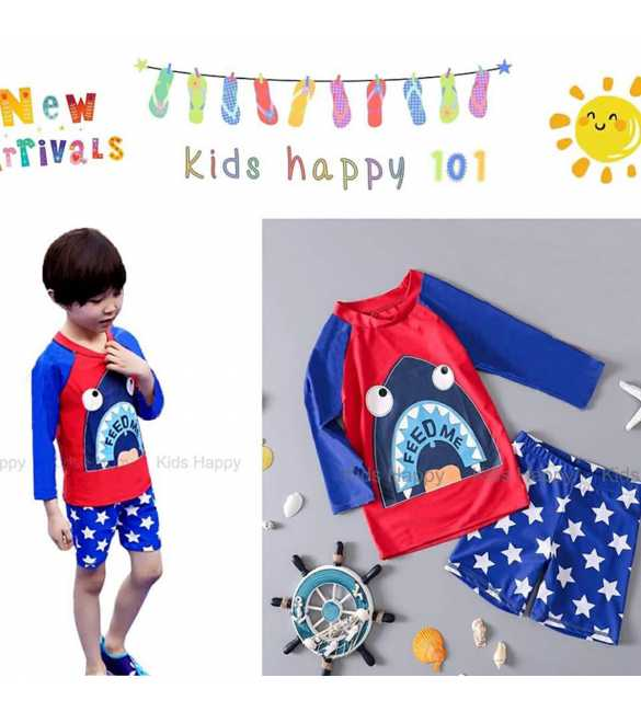 baju renang anak Kids Happy KH 101 G Feed Shark (BIG SIZE)