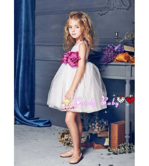 Dress Candy Baby Lilac Flower