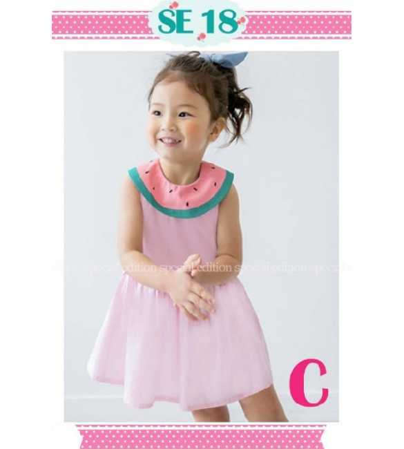 Dress anak perempuan Special Edition SE 18 C Watermelon