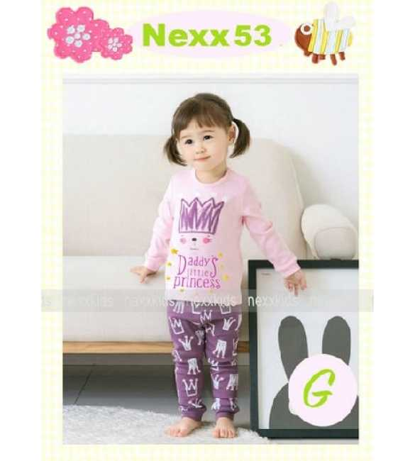 Piyama Anak Nexx 53 G Daddy Little Princess (Baby Size)