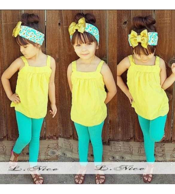 Setelan Anak L Nice Happy Yellow